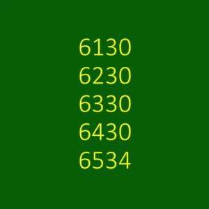 6130, 6230, 6330, 6430 & 6534