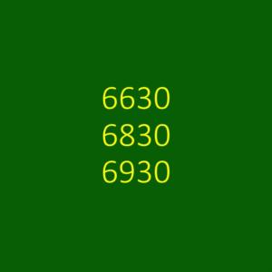 6630, 6830 & 6930