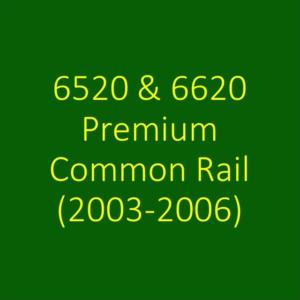 6520 & 6620 Premium Common Rail